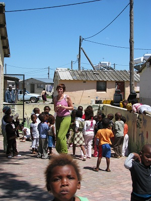 Volunteers will get a glimpse of South African township life