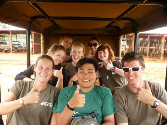 Volunteers make lifelong friends and experience the African wild from a new perspective